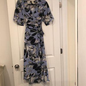 Dresses & Skirts - Floral High Low Wrap Dress